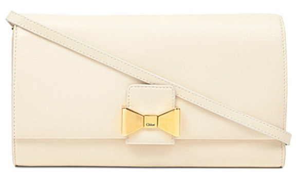 Chloe - Bobbie leather clutch