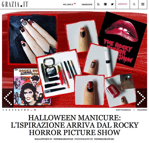 Grazia.it + non solo Kawaii | The Rocky Horror Picture Show