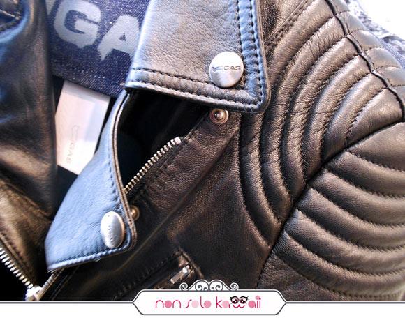 giacca di pelle GAS FW 13/14 collection, collezione invernale