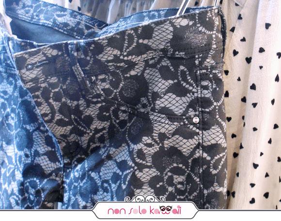pantaloni pizzo GAS FW 13/14 collection, collezione invernale