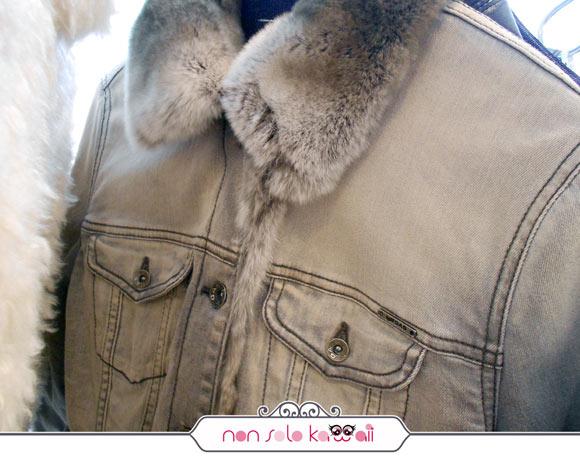 giacca di jeans con pelo GAS FW 13/14 collection, collezione invernale
