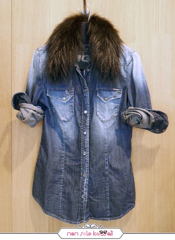 camicia jeans GAS FW 13/14 collection, collezione invernale