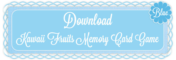 Ivan Ricci aka kawaii-style - Download Kawaii Fruits Memory Card Game