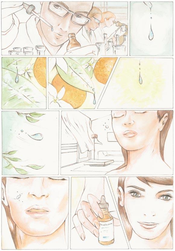 Kamilla Lucarelli - Destinazione benessere for SkinCeuticals Form Of Art Comics
