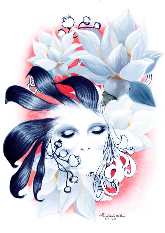 Francesca Cresciullo for non solo Kawaii for SkinCeuticals Form Of Art Comics