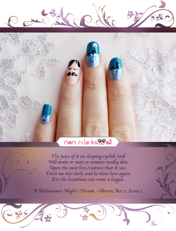 non solo Kawaii - Love Drop, A Midsummer Night's Dream, Orly Surreal