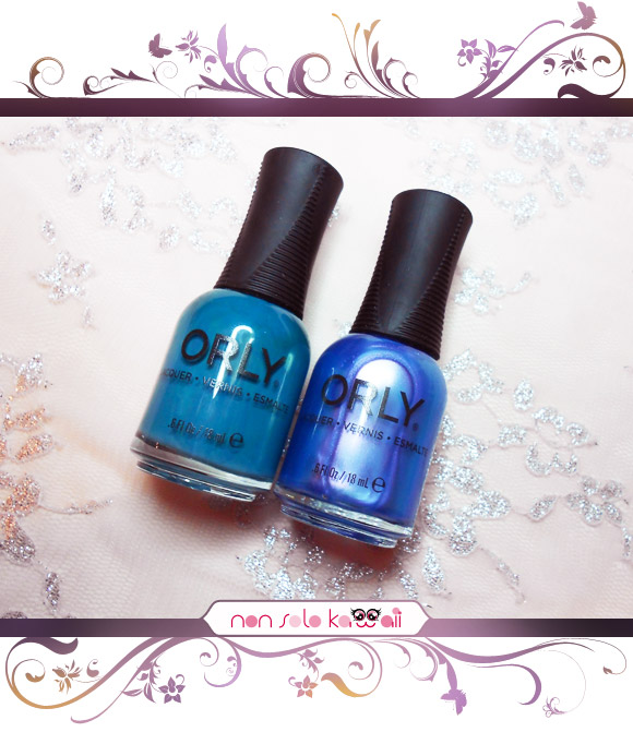 non solo Kawaii - Orly Surreal, Teal Unreal, Angel Rain