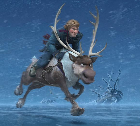Frozen, Walt Disney Animation Studios - Sven & Kristoff