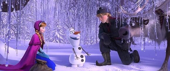 Frozen, Walt Disney Animation Studios - Anna, Olaf, Kristoff
