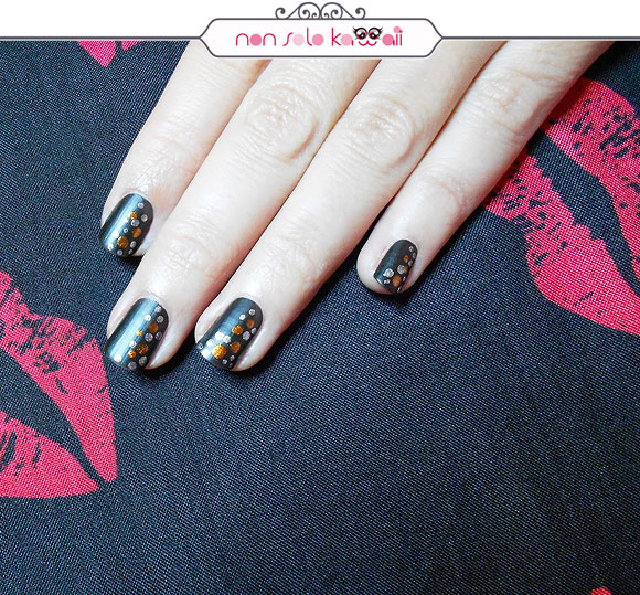 non solo Kawaii - Nail Arts for Grazia.it, Leather & Studs
