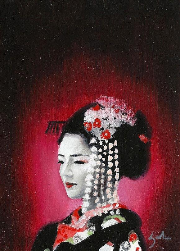 Cherry Blossom, Kate Zambrano - Wanderlust at Modern Eden Gallery