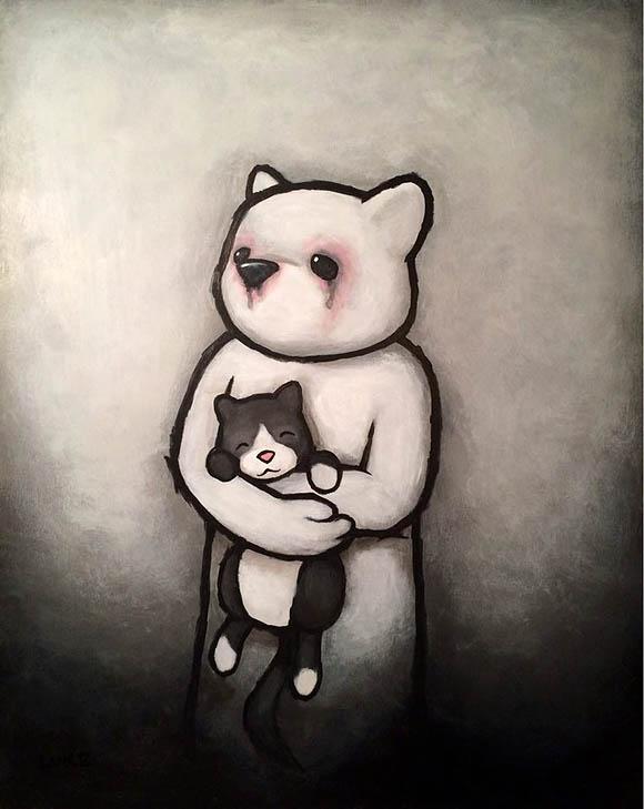Cat Art Show, 101/exhibit - Love and Allergies, Luke Chueh