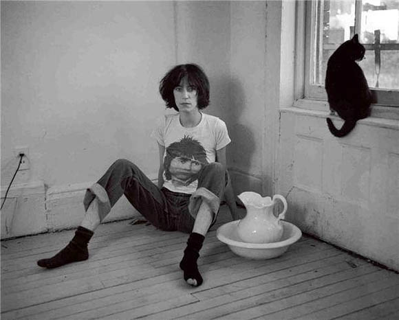 Cat Art Show, 101/exhibit - The Lookout, Frank Stefanko with Patti Smith