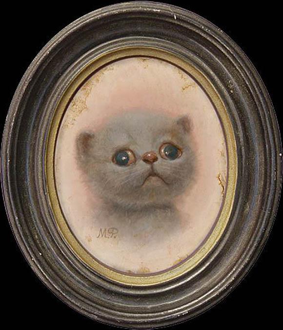 Cat Art Show, 101/exhibit - Marion Peck
