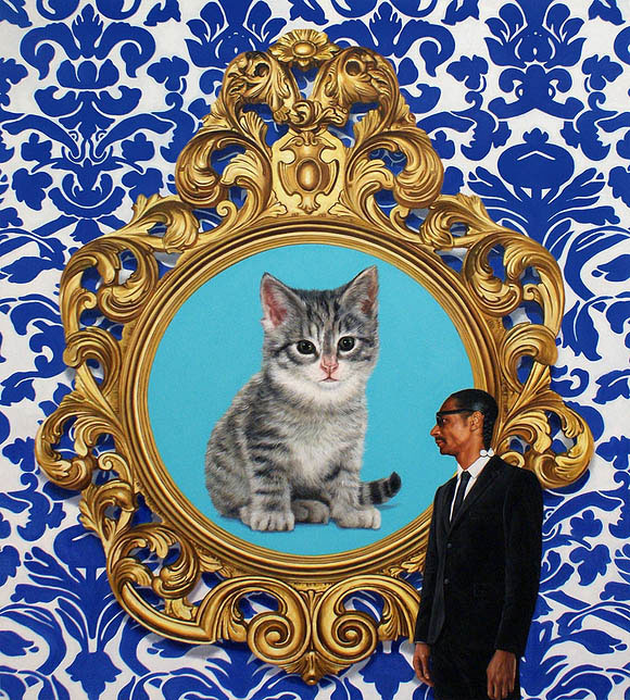 Cat Art Show, 101/exhibit - A Great Big Giant World, Marc Dennis