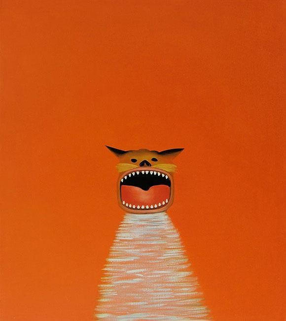 Cat Art Show, 101/exhibit - Orange Cat