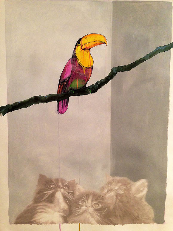 Cat Art Show, 101/exhibit - Pussy Wrecker, Sage Vaughn