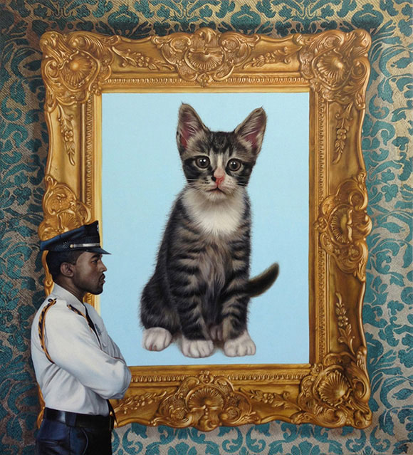 Cat Art Show, 101/exhibit - The Measure of all Things, Marc Dennis