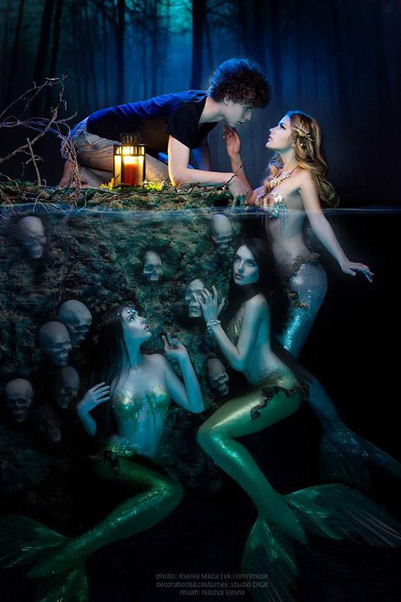 Ksenia Muza - Mermaids