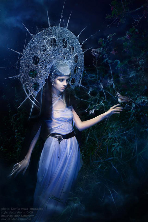 Ksenia Muza - Morana - the pagan Goddess of Death, Night and Cold