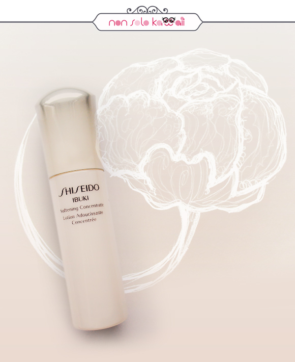 Laura Castellanza - Shiseido Softening Concentrate