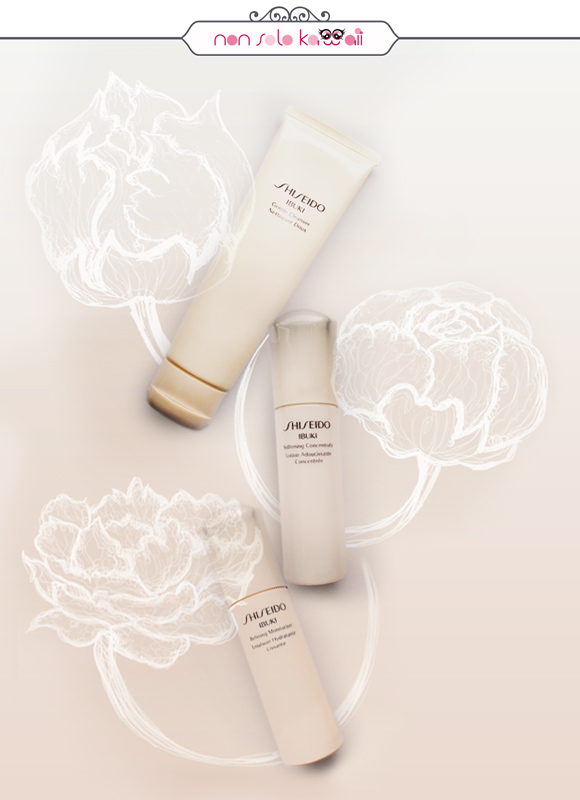 Laura Castellanza - Shiseido Gentle Cleanser, Softening Concentrate, Refining Moisturizer