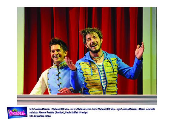 Cercasi Cenerentola, Compagnia della Rancia - Teatro della Luna