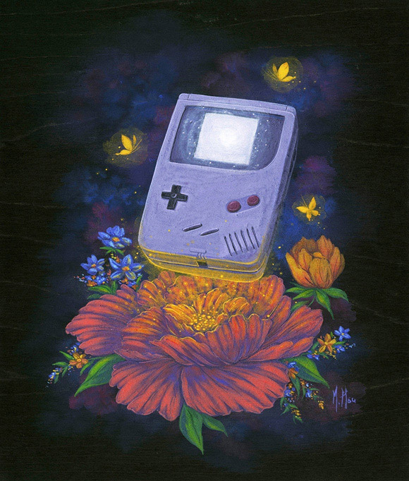 Ascension of Game Boy, Martin Hsu - Nostalgia, Modern Eden Gallery