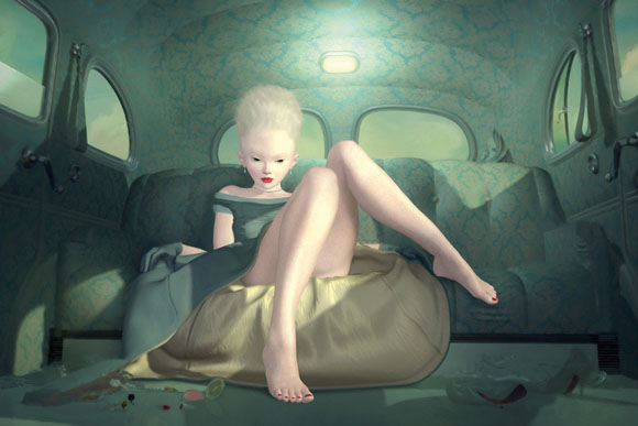 Ray Caesar, Day Trip - The Trouble with Angels, Dorothy Circus Gallery