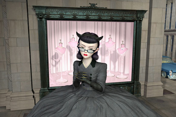 Ray Caesar, Desire - The Trouble with Angels, Dorothy Circus Gallery