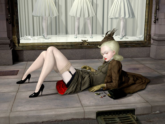 Ray Caesar, Fallen - The Trouble with Angels, Dorothy Circus Gallery