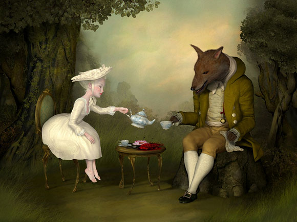 Ray Caesar, Tea Between Me and Him - The Trouble with Angels, Dorothy Circus Gallery