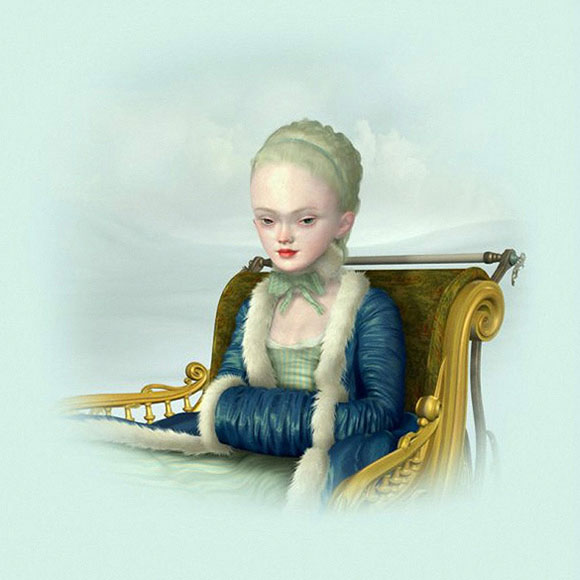 Ray Caesar, Winter Study - The Trouble with Angels, Dorothy Circus Gallery