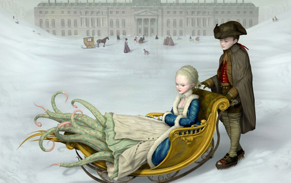 Ray Caesar, Winter - The Trouble with Angels, Dorothy Circus Gallery