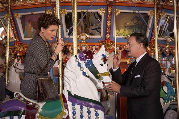 Walt Disney Pictures - Saving Mr. Banks - Saving Mr. Banks, Tom Hanks as Walt Disney & Emma Thompson as Pamela P. L. Travers