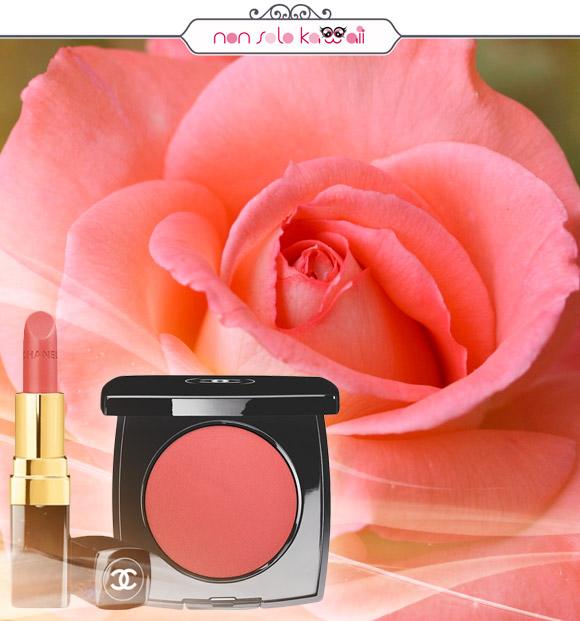 non solo Kawaii - Chanel Rouge Coco 60 Triomphe, Chanel le Blush Crème de Chanel 69 Intonation