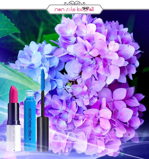 non solo Kawaii - diego dalla palma True Lipstick, diego dalla palma Mascara Rainbow Azzurro