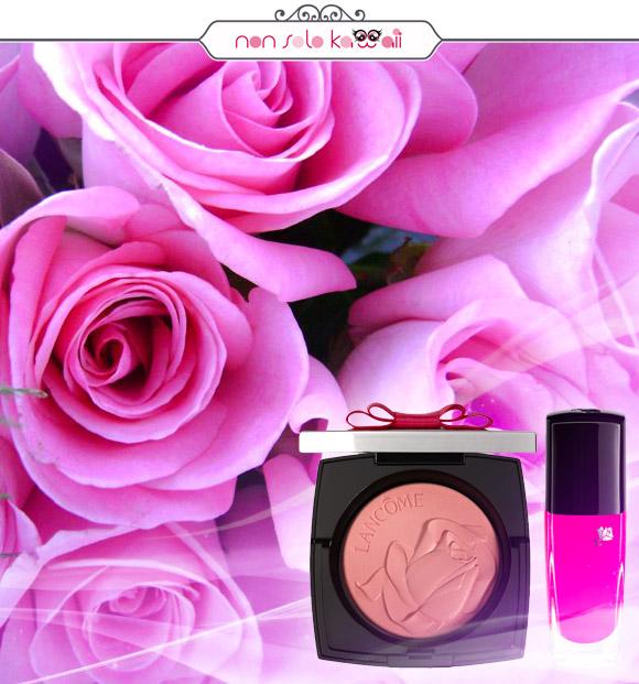 non solo Kawaii - Lancôme Blush Highlighter 01 Rose Ballerine, Lancôme Vernis in Love 366 Rose Satin