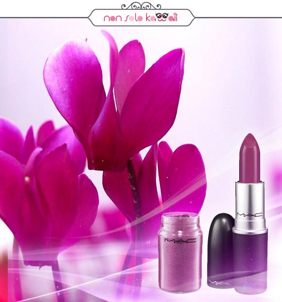 non solo Kawaii - MAC Pigment Pink Pearl, MAC Lipstick Heavenly Hybrid