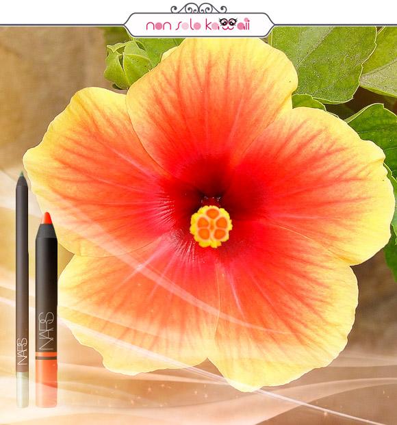 non solo Kawaii - Nars Larger Than Life Long-Wear Eyeliner 01 Puerta Del Sol, Nars Satin Lip Pencil 01 Timanfaya