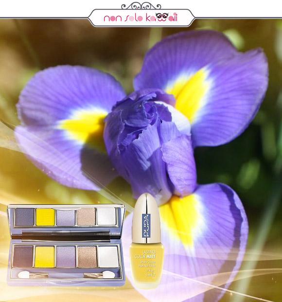 non solo Kawaii - Pupa Vamp! Compact Eyeshadow Palette 001 Sunny, Pupa Lasting Color Matt 001 Matt Yellow