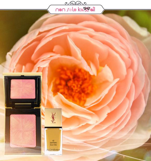 non solo Kawaii - Yves Saint Laurent Rosy Blush, Yves Saint Laurent La Laque Couture 42 Safran Sultan