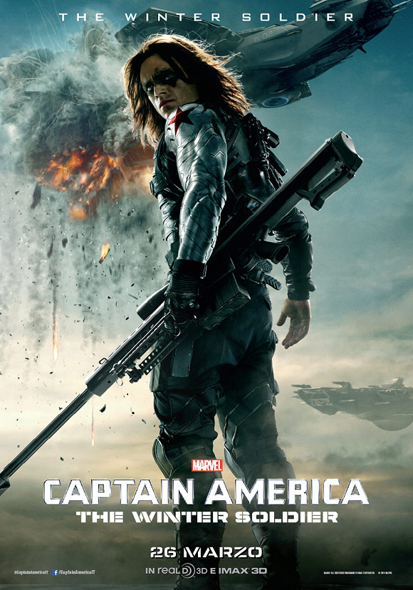 Walt Disney - Captain America, The Winter Soldier