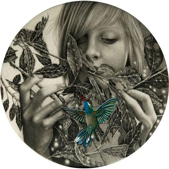 Alessia Iannetti, Agnes - Infusion at Roq La Rue Gallery