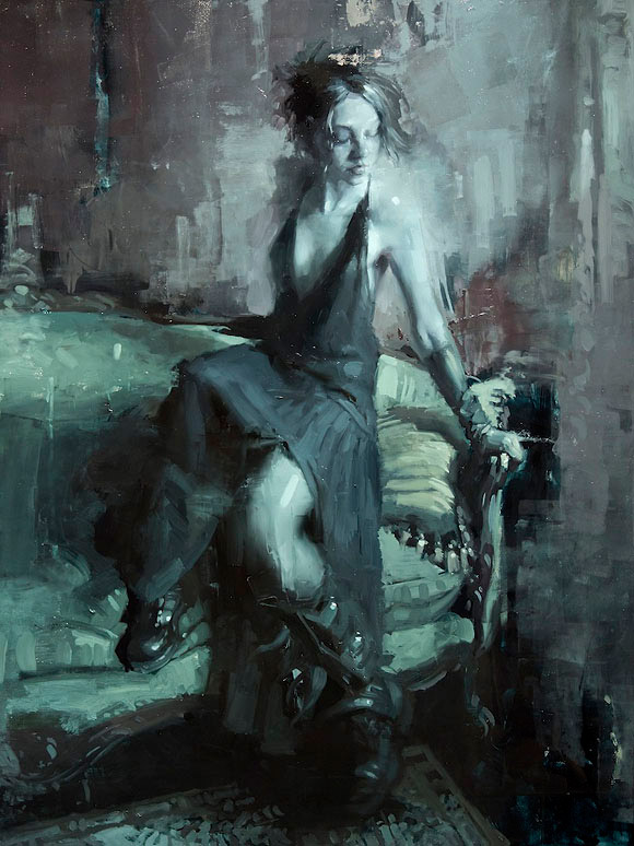 Jeremy Mann - Infusion at Roq La Rue Gallery