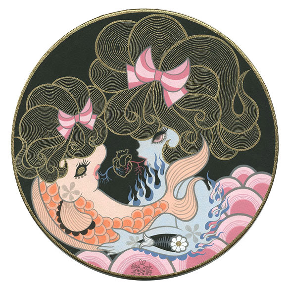 Junko Mizuno, Fish Love - The Cotton Candy Machine Gallery