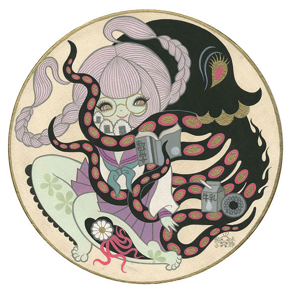 Junko Mizuno, Octopus Teacher - The Cotton Candy Machine Gallery