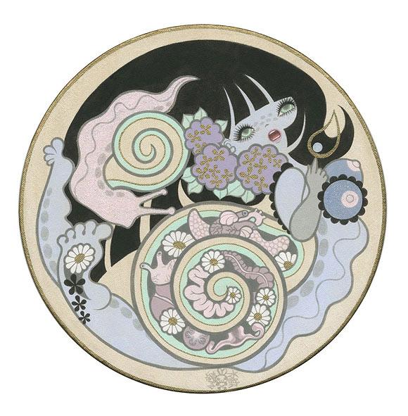 Junko Mizuno, Moony Snails - The Cotton Candy Machine Gallery