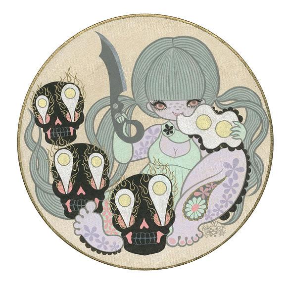 Junko Mizuno, Eggs and Skulls - The Cotton Candy Machine Gallery