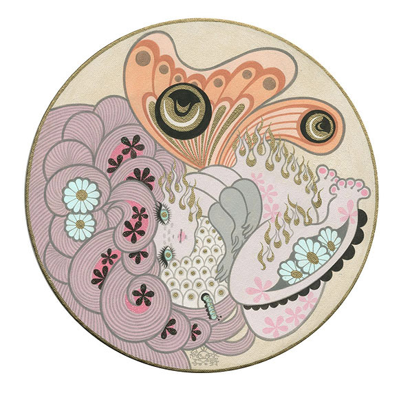 Junko Mizuno, Butterfly Eggs - The Cotton Candy Machine Gallery
